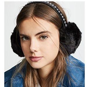 Kate Spade- Rhinestone Bedazzled Ear Muffs